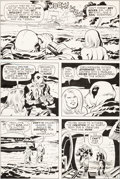 Original Comic Art:Panel Pages, Jack Kirby and D. Bruce Berry Kamandi, the Last Boy on Earth#33 Page 2 Original Art (DC, 1975)....