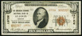 National Bank Notes:Missouri, Saint Louis, MO - $10 1929 Ty. 2 The American Exchange NB Ch. #13726. ...