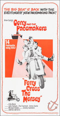 """Movie Posters:Rock and Roll, Ferry Cross the Mersey (United Artists, 1965). Three Sheet (41"""" X79""""). Rock and Roll.. ..."""
