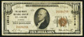 National Bank Notes:Missouri, Saint Louis, MO - $10 1929 Ty. 1 The Boatmen's NB Ch. # 12916. ...