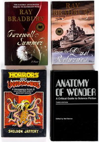 Science-Fiction Related Books Group of 9 (Various Publishers, 1977-2006) Condition: Average NM-.... (Total: 9 Items)