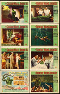 """Movie Posters:Horror, The Creature Walks Among Us (Universal International, 1956). Lobby Card Set of 8 (11"""" X 14"""") Reynold Brown Artwork.. ... (Total: 8 Items)"""