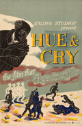 "Movie Posters:Comedy, Hue and Cry (General Film Distributors, 1947). Full-Bleed BritishDouble Crown (20"" X 30"") Edward Bawden Artwork.. ..."