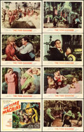 """Movie Posters:Science Fiction, The Time Machine (MGM, 1960). Lobby Card Set of 8 (11"""" X 14"""")Reynold Brown Artwork.. ... (Total: 8 Items)"""
