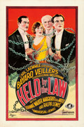 "Movie Posters:Crime, Held by the Law (Universal, 1927). One Sheet (27"" X 40.75"").. ..."