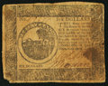 Colonial Notes:Continental Congress Issues, Continental Currency April 11, 1778 $6 Very Good.. ...
