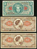 Military Payment Certificates:Series 641, Series 641 $5 and $10.. ... (Total: 3 notes)