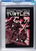 Modern Age (1980-Present):Alternative/Underground, Teenage Mutant Ninja Turtles #1 (Mirage Studios, 1984) CGC NM+ 9.6Off-white to white pages....