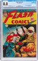 Flash Comics #56 (DC, 1944) CGC VF 8.0 Off-white to white pages