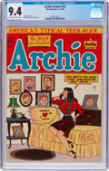 Golden Age (1938-1955):Humor, Archie Comics #23 (Archie, 1946) CGC NM 9.4 Off-white to white pages....