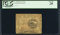 Colonial Notes:Continental Congress Issues, Continental Currency May 9, 1776 $4 PCGS Very Fine 20.. ...