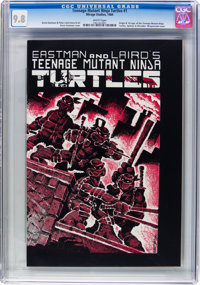 Teenage Mutant Ninja Turtles #1 (Mirage Studios, 1984) CGC NM/MT 9.8 White pages