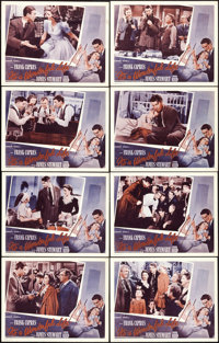 """It's a Wonderful Life (M and A Alexander Productions, R-1955). Lobby Card Set of 8 (11"""" X 14""""). ... (Total: 8..."""