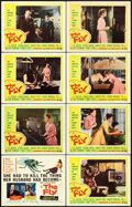 """Movie Posters:Science Fiction, The Fly (20th Century Fox, 1958). Lobby Card Set of 8 (11"""" X 14"""")..... (Total: 8 Items)"""
