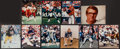 Football Collectibles:Photos, Hall of Fame Quarterbacks Signed Photographs Lot of 10.. ...