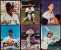 Baseball Collectibles:Photos, Boston Red Sox Greats Signed Photograph Collection (6) - Includes Boggs, Yastrzemski, & More. . ...
