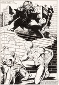 Original Comic Art:Splash Pages, John Romita Jr. and Jim Mooney Amazing Spider-Man #231 Splash Page 22 Original Art (Marvel, 1982)....
