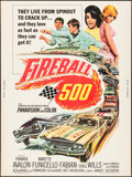 """Movie Posters:Action, Fireball 500 (American International, 1966). Poster (30"""" X 40""""). Action.. ..."""