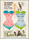 """Movie Posters:Comedy, How to Stuff a Wild Bikini (American International, 1965). Rolled, Very Fine-. Poster (30"""" X 40""""). Comedy.. ..."""