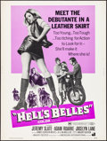"Movie Posters:Exploitation, Hell's Belles (American International, 1969). Rolled, Very Fine-. Poster (30"" X 40""). Exploitation.. ..."