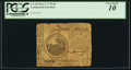 Colonial Notes:Continental Congress Issues, Continental Currency May 9, 1776 $6 PCGS Very Good 10.. ...