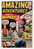 Silver Age (1956-1969):Horror, Amazing Adventures #2 (Marvel, 1961) Condition: GD....
