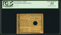 Colonial Notes:Massachusetts, Massachusetts May 5, 1780 $7 PCGS Choice About New 55.. ...
