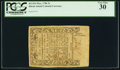 Colonial Notes:Rhode Island, Rhode Island May 1786 3s PCGS Very Fine 30.. ...