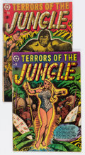 Golden Age (1938-1955):Horror, Terrors of the Jungle #9 and 19 Group (Star Publications, 1952-54) Condition: Average GD/VG.... (Total: 2 Comic Books)