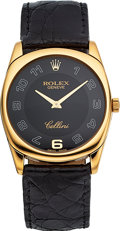 "Timepieces:Wristwatch, Rolex Ref. 4233 Gold Cellini ""Danaos"", circa 2001. ..."