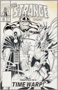 Original Comic Art:Covers, Chris Marrinan and Mark McKenna Doctor Strange, Sorcerer Supreme #33 Cover Original Art (Marvel, 1991)....