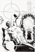 Original Comic Art:Splash Pages, Jim Starlin Marvel Universe: The End #5 Splash Page 3Original Art (Marvel, 2003)....