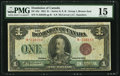 Canadian Currency: , DC-25e $1 1923. ...
