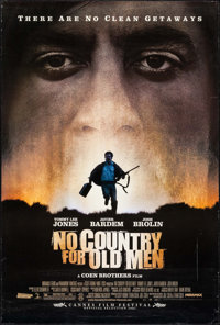 """No Country for Old Men (Miramax, 2007). One Sheet (27"""" X 40"""") DS. Crime"""