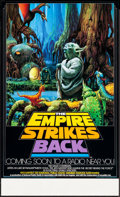 "Movie Posters:Science Fiction, The Empire Strikes Back (20th Century Fox, 1982). NPR Radio PromoPoster (17"" X 28""). Science Fiction.. ..."
