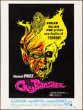 """Movie Posters:Horror, Cry of the Banshee (American International, 1970). Rolled, Very Fine+. Poster (30"""" X 40""""). Horror.. ..."""