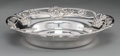 Silver Holloware, American:Bowls, A Gorham Silver Bowl with Reticulated Foliate Rim, Providence,Rhode Island, circa 1904. Marks: (lion-anchor-G),STERLING,...