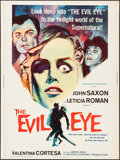 """Movie Posters:Mystery, The Evil Eye (American International, 1964). Poster (30"""" X 40""""). Mystery.. ..."""