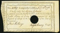 Colonial Notes:Connecticut, Connecticut Interest Payment Certificate 5s Feb. 15, 1790 CT-50Very Fine-Extremely Fine, HOC.. ...