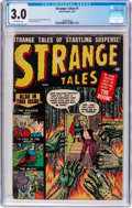 Golden Age (1938-1955):Horror, Strange Tales #1 (Atlas, 1951) CGC GD/VG 3.0 Off-white pages....