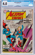 Silver Age (1956-1969):Superhero, Action Comics #252 (DC, 1959) CGC VG 4.0 Cream to off-white pages....