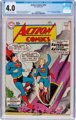 Action Comics #252 (DC, 1959) CGC VG 4.0 Cream to off-white pages