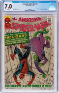 Silver Age (1956-1969):Superhero, The Amazing Spider-Man #6 (Marvel, 1963) CGC FN/VF 7.0 Whitepages....
