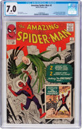 Silver Age (1956-1969):Superhero, The Amazing Spider-Man #2 (Marvel, 1963) CGC FN/VF 7.0 Whitepages....