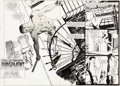 Original Comic Art:Splash Pages, Klaus Janson Daredevil #1...