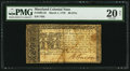 Colonial Notes:Maryland, Maryland March 1, 1770 $6 PMG Very Fine 20 Net.. ...