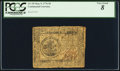 Colonial Notes:Continental Congress Issues, Continental Currency May 9, 1776 $5 PCGS Very Good 8.. ...