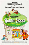 "Movie Posters:Animation, Robin Hood (Buena Vista, 1973). Folded, Fine/Very Fine. One Sheet(27"" X 41""). Animation.. ..."