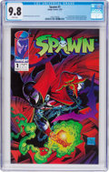 Modern Age (1980-Present):Superhero, Spawn #1 (Image, 1992) CGC NM/MT 9.8 White pages. ...