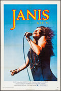 "Movie Posters:Rock and Roll, Janis (Universal, 1975). Folded, Fine/Very Fine. One Sheet (27"" X 41"") Jim Marshall Photo. Rock and Roll.. ..."